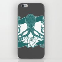kraken iPhone & iPod Skins featuring KRAKEN by Norm Morales Originals