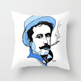 Giacomo Puccini Italian Composer Throw Pillow