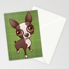 Zippy the Boston Terrier Stationery Cards