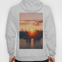 Sunrise in New York City (Color) Hoody