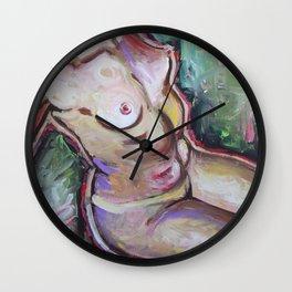 Recline Wall Clock