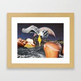 Challah French Toast Framed Art Print