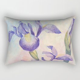 Angel Iris - Joyful Rectangular Pillow