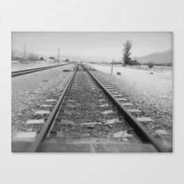 Tracks to Anywhere Canvas Print