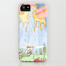 The Mountian. iPhone Case