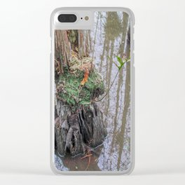 The  Swamp Fairy's Home Clear iPhone Case