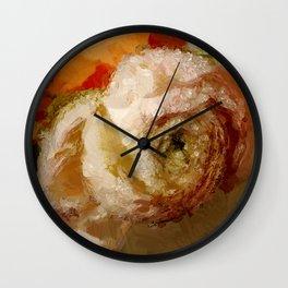 First Ranunkel Wall Clock