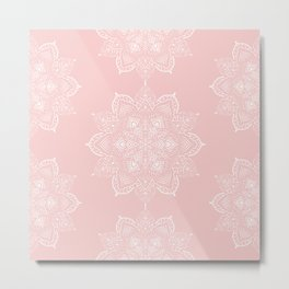 Winter Spirit - Blush Metal Print