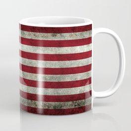 USA flag - in Super Grunge Coffee Mug