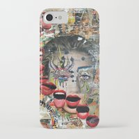 lip iPhone & iPod Cases featuring Lip Service by Katy Hirschfeld