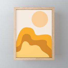 Sun Dunes 02 Framed Mini Art Print