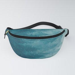Misty Pine Forest Fanny Pack