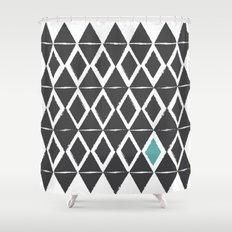 diamond back Shower Curtain