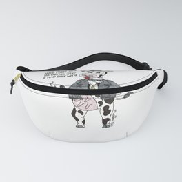 Bossy Bessy Beef Cow Fanny Pack