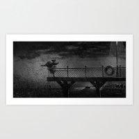 storm Art Prints featuring Storm by Greg Abbott