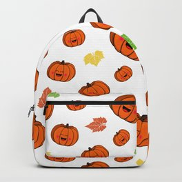 The happy pumpkin Backpack