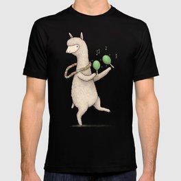 Alpaca on Maracas T-shirt