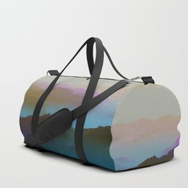 Mountainous landscape Duffle Bag