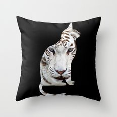 BIG AND SMALL CAT Throw Pillow