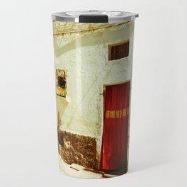 Golden Shimmer Travel Mug