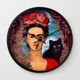 Frida Kahlo   c Wall Clock