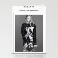givenchy Stationery Cards featuring Givenchy Paris by CHESSOrdinary