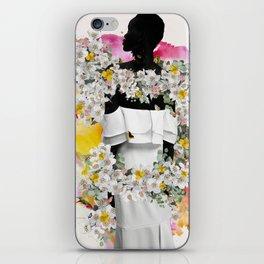 Cora flowers iPhone Skin