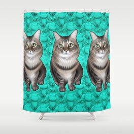 Missy 2 Shower Curtain