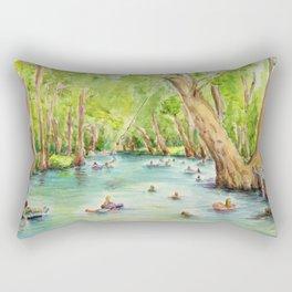 Blue Hole Wimberley Texas Rectangular Pillow