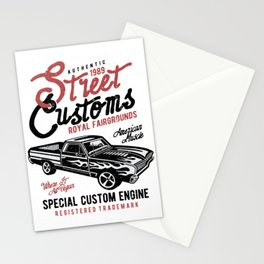 Street Customs Royal Fairgrounds Stationery Cards