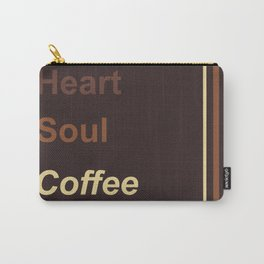 Heart Soul Coffee Carry-All Pouch