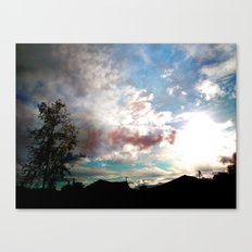 Fantasy of a Blind Reality Canvas Print
