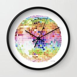 Disco Ball – Rainbow Wall Clock