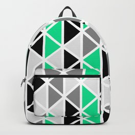 Triangular Vitrail Mosaic Pattern V.03 Backpack