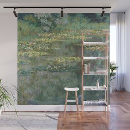Water Lily Pond Claude Monet Wall Mural