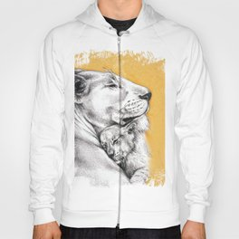 Lioness Mom Love Art Hoody