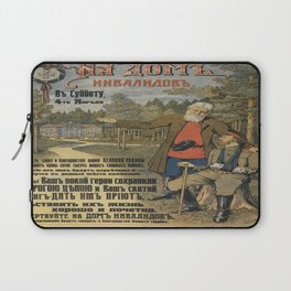 Vintage poster - Russia WWI Laptop Sleeve
