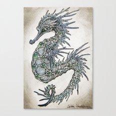 cerulean seahorse  Canvas Print