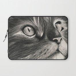 Curious Cat Laptop Sleeve