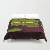 simpson Duvet Covers featuring Bart Simpson by Jide