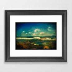 Pacific Blue Framed Art Print