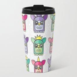 Nineties Furby Pattern  Travel Mug