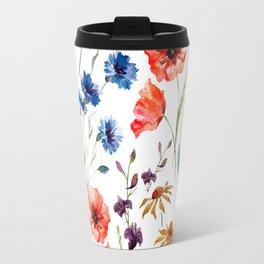 Floral Madness Travel Mug