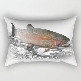 Migrating Steelhead Trout Rectangular Pillow