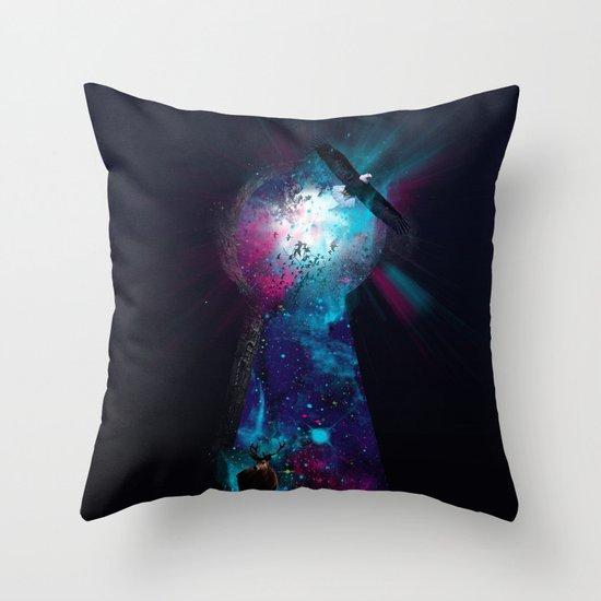 Keyhole Nebula Throw Pillow