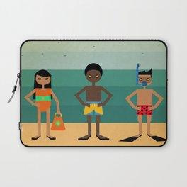 Vamos a la playa Laptop Sleeve