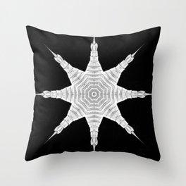 Ninja Star 5 Throw Pillow