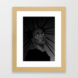 FKA twigs x Storm Framed Art Print