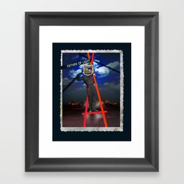 Father of Light Framed Art Print