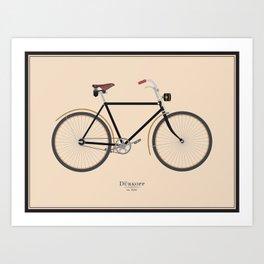 Vintage Dürkopp Bike Art Print
